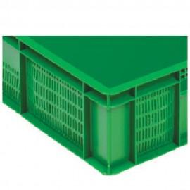 open plastic box