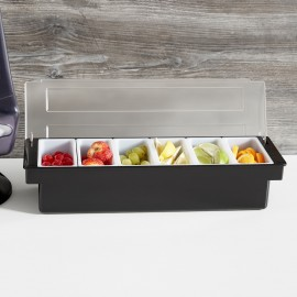 Condiment Holder 6 Compartments