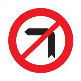 Left Turn Prohibited