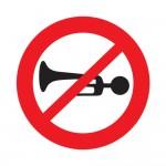 Horns Prohibited
