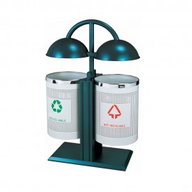 Outdoor Steel Recycle Bin