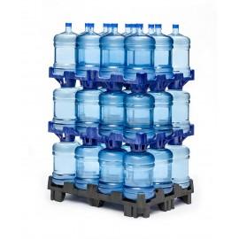 Water bottle pallet